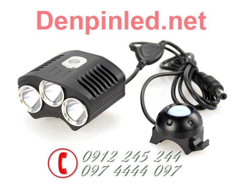 Đèn pin gắn xe đạp Trustfire D009