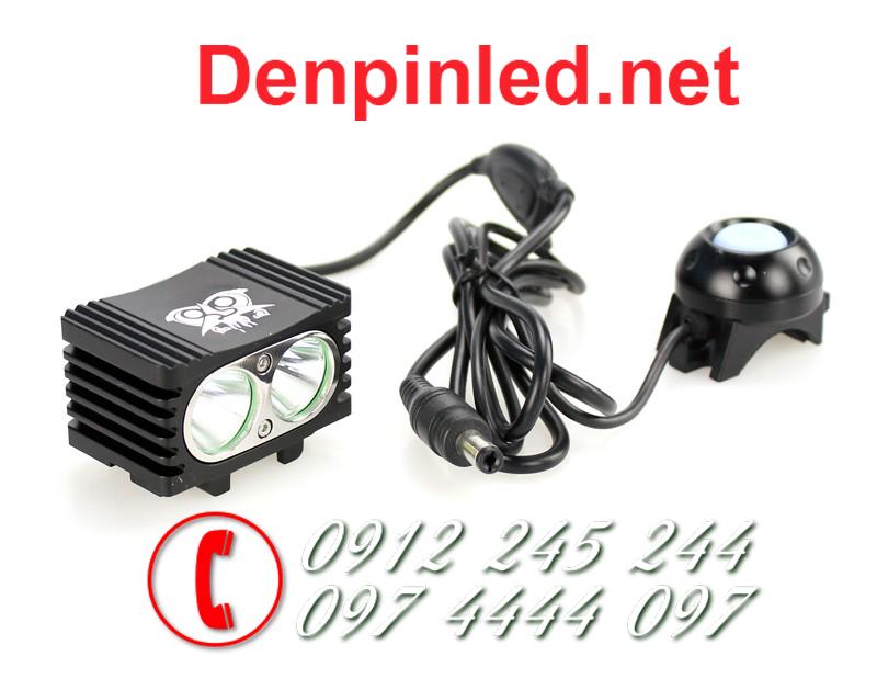 Đèn pin gắn xe đạp Trustfire D002